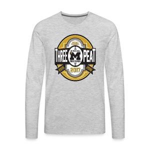 3peat - Men's Premium Long Sleeve T-Shirt