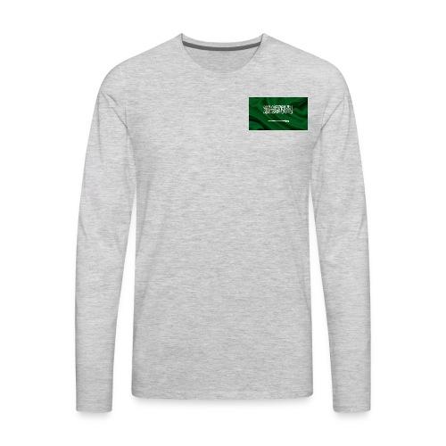 Saudi Aarabi - Men's Premium Long Sleeve T-Shirt