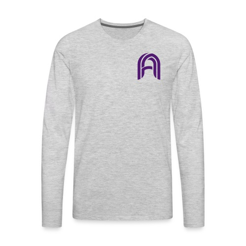 The Argon Logo - Men's Premium Long Sleeve T-Shirt