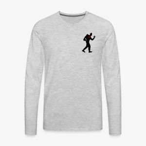 BOR - rocking scout black - Men's Premium Long Sleeve T-Shirt