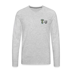 U S Army Special Forces Green Berets SSI DUI - Men's Premium Long Sleeve T-Shirt