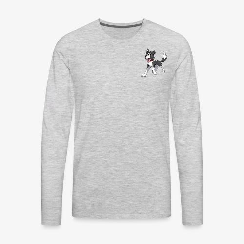 DoggoFace Merch - Men's Premium Long Sleeve T-Shirt
