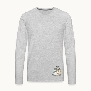 CATS - SENTIENT BEINGS - Carolyn Sandstrom - Men's Premium Long Sleeve T-Shirt