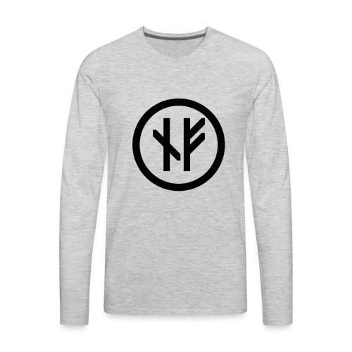 Northman fitness logo - Men's Premium Long Sleeve T-Shirt