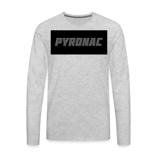 Logo (Rectangle) - Men's Premium Long Sleeve T-Shirt