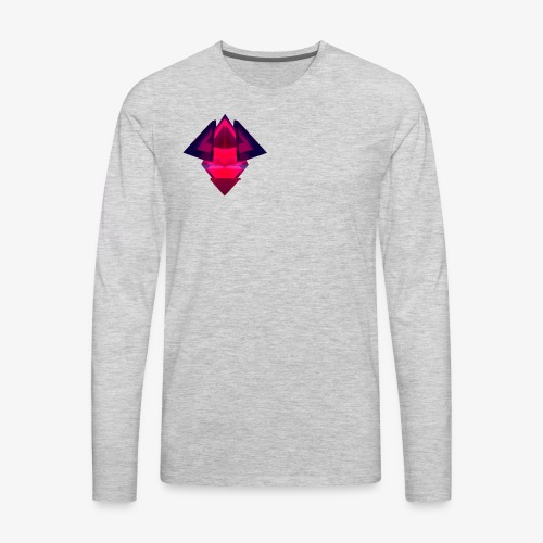 Manoley Tech logo - Men's Premium Long Sleeve T-Shirt
