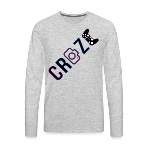Craze 2018 logo - Men's Premium Long Sleeve T-Shirt