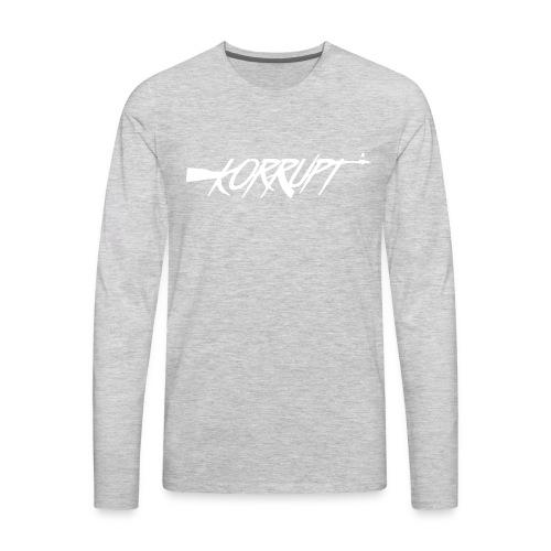 korrupt ak47 white - Men's Premium Long Sleeve T-Shirt