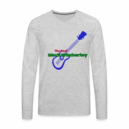 The Real Mark Wimberley Swag - Men's Premium Long Sleeve T-Shirt