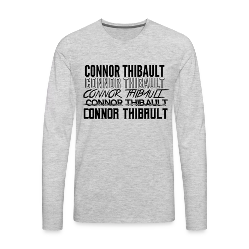Connor Thibault Timeline - Men's Premium Long Sleeve T-Shirt