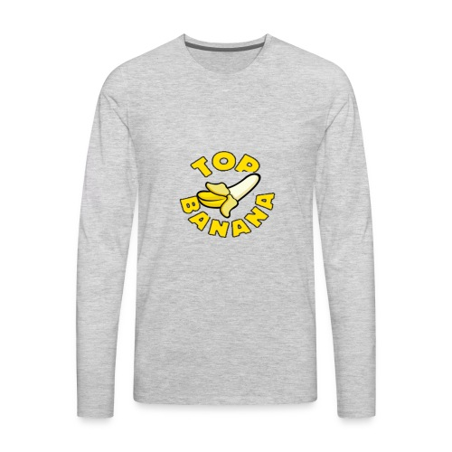 TOP BANANA - Men's Premium Long Sleeve T-Shirt