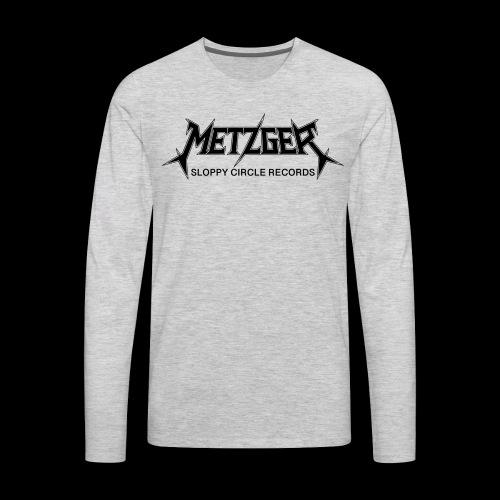 Metzger Sloppy Circle Records - Men's Premium Long Sleeve T-Shirt