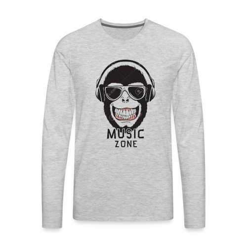Music zone - Men's Premium Long Sleeve T-Shirt