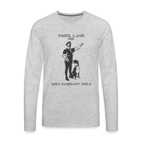 PEACEandLove - Men's Premium Long Sleeve T-Shirt