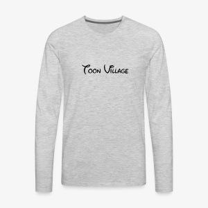 Disney Logo - Men's Premium Long Sleeve T-Shirt