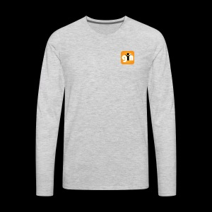 Global Humaist Magazine Icon - Men's Premium Long Sleeve T-Shirt