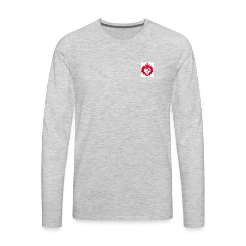 E JUST LION - Men's Premium Long Sleeve T-Shirt