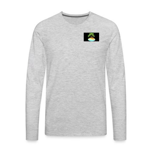 Black Island mojo logo - Men's Premium Long Sleeve T-Shirt