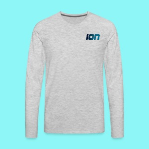 ION LOGO - Men's Premium Long Sleeve T-Shirt