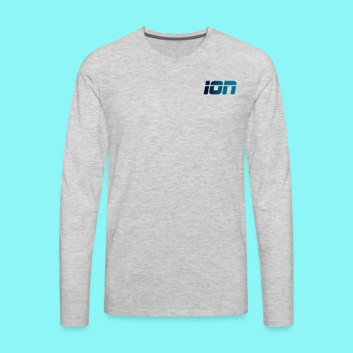 ION LOGO - Men's Premium Long Sleeve T-Shirt
