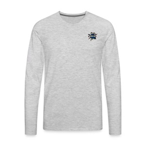 We all live in this world - Men's Premium Long Sleeve T-Shirt