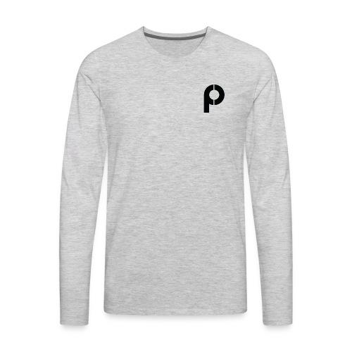 The 'P' - Men's Premium Long Sleeve T-Shirt