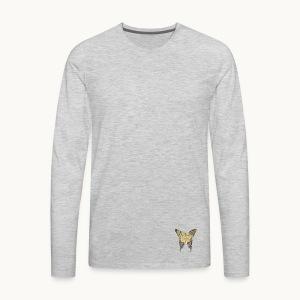 BUTTERFLY-LEPIDOPTERA-PASTEL-Carolyn Sandstrom - Men's Premium Long Sleeve T-Shirt