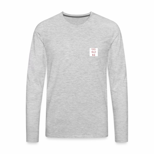 GG NO RE - Men's Premium Long Sleeve T-Shirt