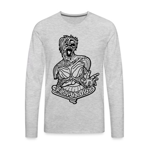 Zombie - Men's Premium Long Sleeve T-Shirt