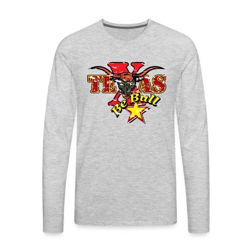 Texas 01 - Men's Premium Long Sleeve T-Shirt