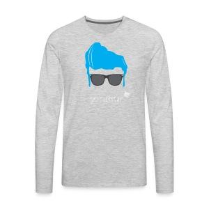 Geo Rockstar (him) - Men's Premium Long Sleeve T-Shirt
