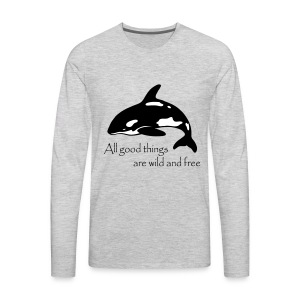 End Captivity - Men's Premium Long Sleeve T-Shirt