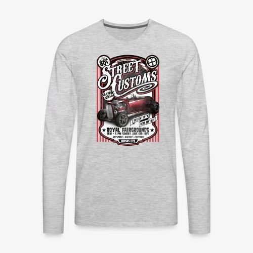 Street Customs- Royal Fairground Vintage Car shirt - Men's Premium Long Sleeve T-Shirt