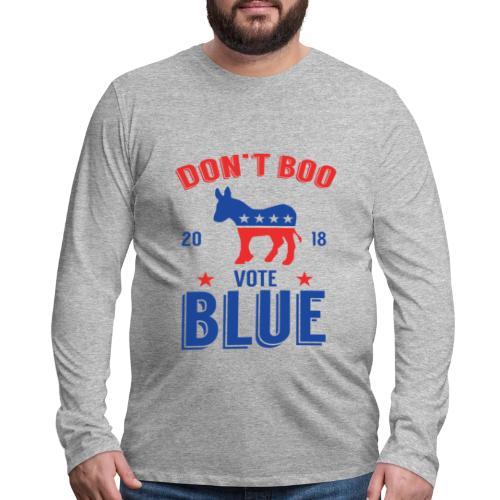 Midterm Elections 2018 Gift T-Shirt - Men's Premium Long Sleeve T-Shirt