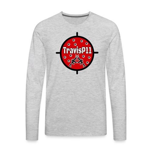 travisp11 transparent - Men's Premium Long Sleeve T-Shirt