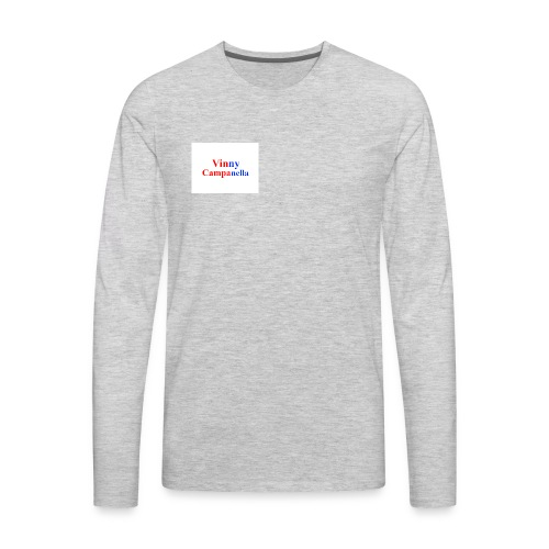 Logo For My Youtube - Men's Premium Long Sleeve T-Shirt