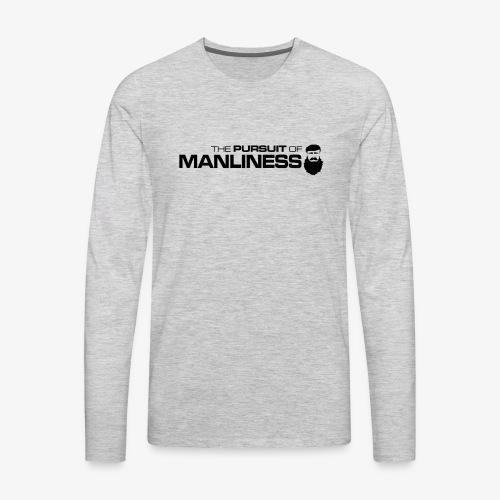 PoM Horizontal - Men's Premium Long Sleeve T-Shirt