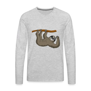 Sloth Six Pack - Men's Premium Long Sleeve T-Shirt