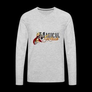 Gecko Magician - Men's Premium Long Sleeve T-Shirt
