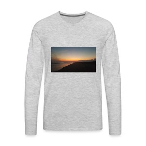 Ocean Sunset - Men's Premium Long Sleeve T-Shirt