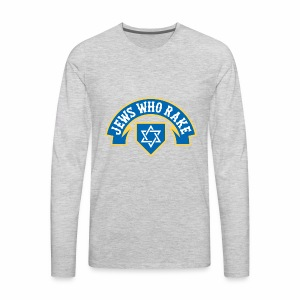 Jews Who Rake - Jew Crew - Men's Premium Long Sleeve T-Shirt