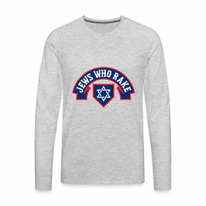 Jews Who Rake - The Red Lox - Men's Premium Long Sleeve T-Shirt