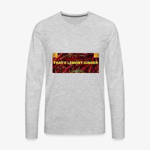That's Lemony Ginger - Men's Premium Long Sleeve T-Shirt