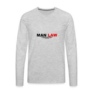 MAN LAW - Men's Premium Long Sleeve T-Shirt