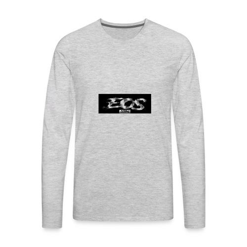 EOS clothing // NEW Brush logo - Men's Premium Long Sleeve T-Shirt