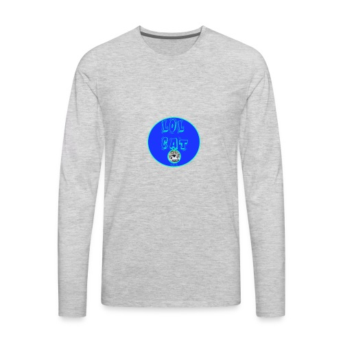 Lol Cat 236 - Men's Premium Long Sleeve T-Shirt