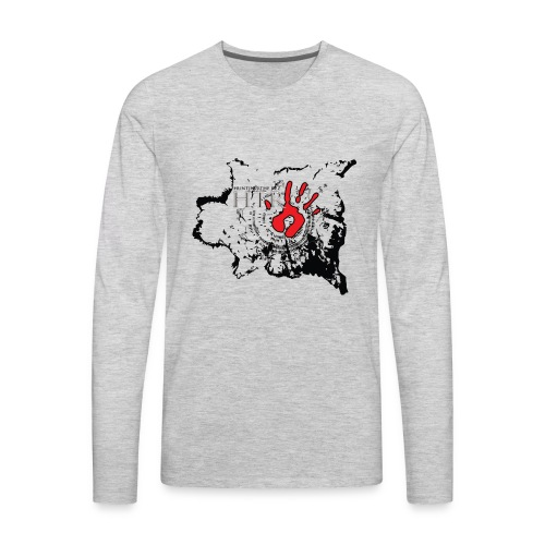 Buffalo Robe story teller - Men's Premium Long Sleeve T-Shirt