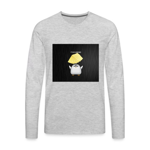 It is cheese - Men's Premium Long Sleeve T-Shirt
