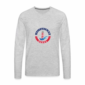 Scituate MA 02066 - Men's Premium Long Sleeve T-Shirt