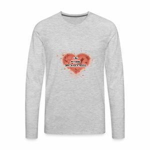 he fixes brokenness - Men's Premium Long Sleeve T-Shirt